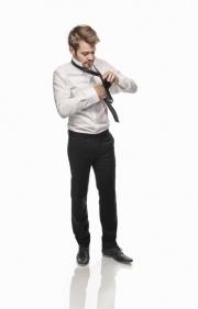 krawatte-binden