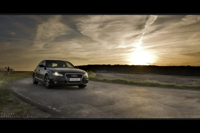 Audi Werbefotograf Hannover Automobilfotograf Bildbearbeiter Photoshop Composing