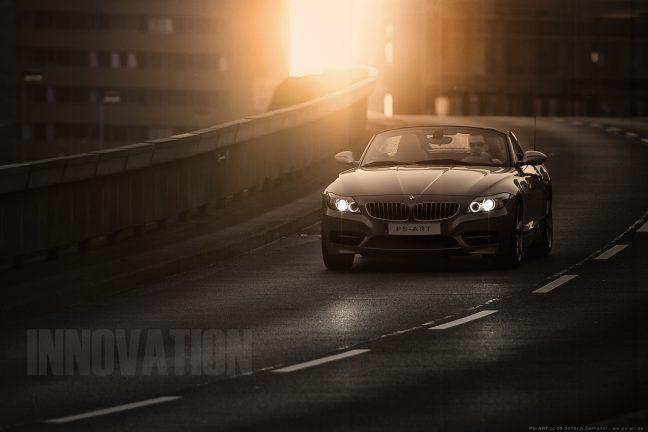 BMW Z4 Werbefotograf