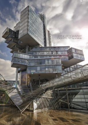 Architektur poster hannover nord lb