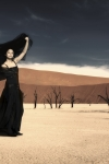 Madonna-Frozen-Fotoshooting-in-der-Wueste-Fotomontage